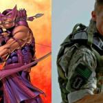 Ator fala sobre uniforme de Gavião Arqueiro nos Vingadores